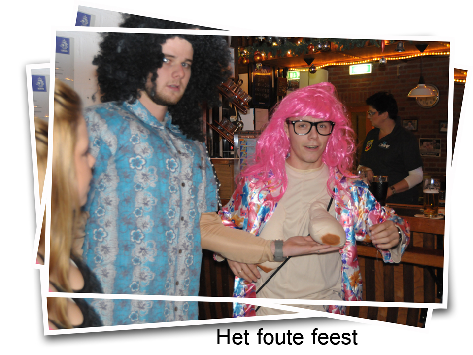Foto's fout feest